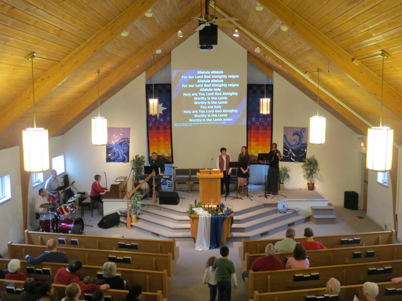 Worship With Us Ridgeway Mennonite Church