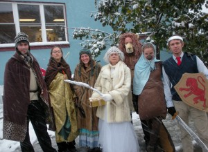 A fundraiser for Our Community Place where Young Adult group members dressed up as characters of Narnia